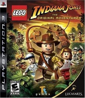Lego Indiana Jones 1 Y 2 Ps 3 Fisicos Nuevos