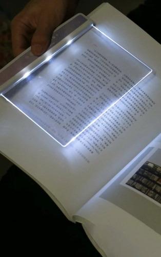 Imagen 1 de 5 de Luz Nocturna De Lectura De Panel Plano Leer Revistas Libros