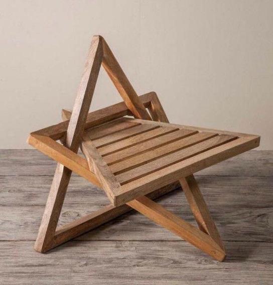 Cadeira De Madeira - Estrela De Davi - Redesign