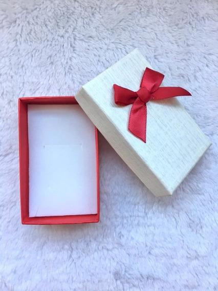 Caixa Para Presente P Lacinho Vermelho