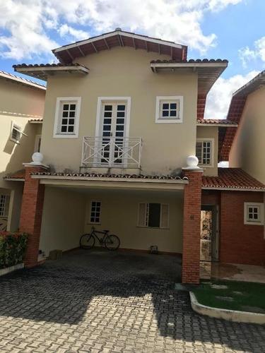 Casa Com 3 Suítes À Venda, 159 M² Por R$ 499.000 - Sapiranga - Fortaleza/ce - Ca0269