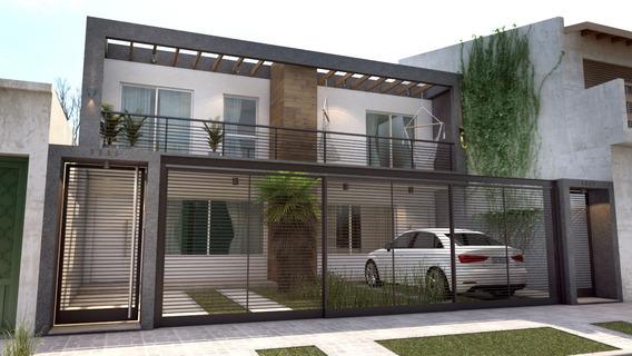 Casa Minimalista En Ph 120 M2 Cubiertos - Apto Credito