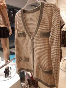 Casaquete Casaqueto Blusa De Tricot Fio Lurex Inspired Carol