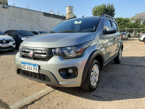 Fiat Mobi Way 2018 Gris Ad538 Ve