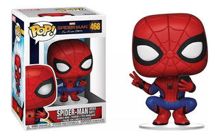 Figura Muñeco Funko Pop Marvel Spider Man 468 Original