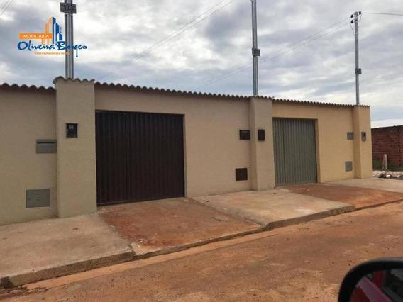 Casa Com 2 Dormitórios À Venda, 80 M² Por R$ 125.000 - Jardim Primavera 1ª Etapa - Anápolis/go - Ca1504