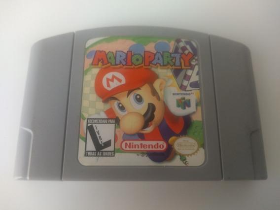 Jogo Mario Party Nintendo 64 Nacional Muito Conservado