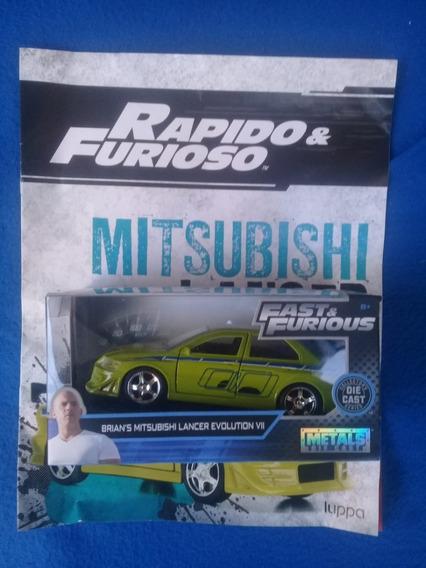Rapido Y Furioso Num 45, Nacion Mitsubishi Lancer Evolution