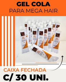 1caixa Com 30 Gel Para Fabricação De Mega Hair Preço Atacado