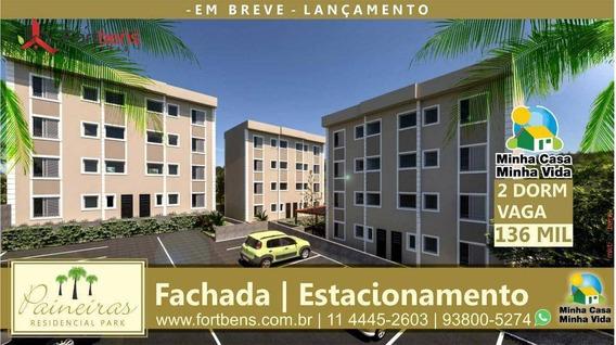 Apartamento Com 2 Dormitórios À Venda, 40 M² Por R$ 136.740,00 - Parque Cento E Vinte - Francisco Morato/sp - Ap0518