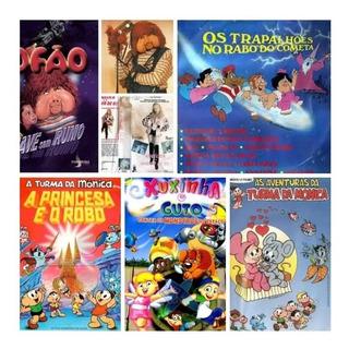 Filmes Infantis Nacionais Anos 80 (6x1) / Frete Gratuito