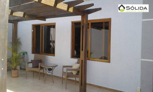 Casa Com 3 Dormitórios À Venda, 167 M² Por R$ 650.000,00 - Vila São José - Várzea Paulista/sp - Ca0155