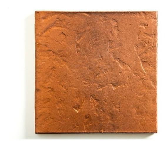 Ceramica Loimar Curado A Fuego 35x35 Colonial Caja 0.98 M
