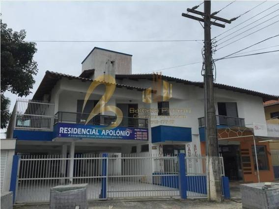 Apartamento 1 Dormitório Para Temporada Em Bombinhas, Bombas, 1 Dormitório, 1 Banheiro, 1 Vaga - 600_1-1260116