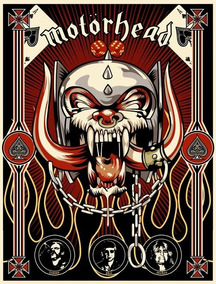 Backpatch Banda Motorhead 40x28 - Backpatch #1