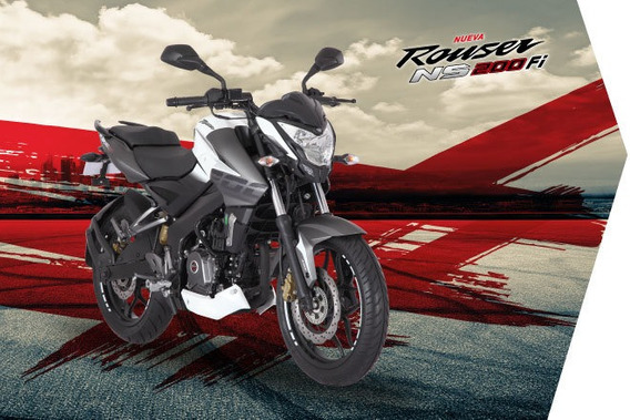 Bajaj Rouser 200 Ns Fi Abs Inyección Modelo Año 2019 O Km