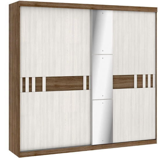 Guarda Roupa Thb Premiatto Glass Flex 2 Portas 2 Gavetas