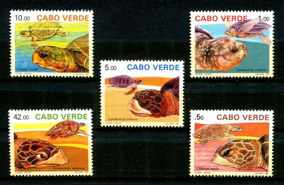 Selos Cabo Verde Fauna Marinha Tartaruga - Frete $14 - L2468