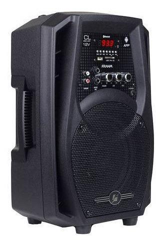 Caixa De Som Frahm Cl200 App 60 Watts Rms Com Bateria Interna - Frete Grátis - Sul - Sudeste - Centro Oeste