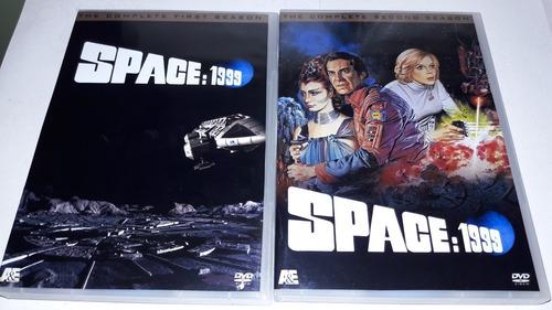 Dvd Box Espaço 1999 Space 1999 - Completa Digital Legendada