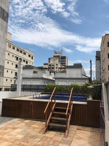 Imagem 1 de 17 de Oportunidade - Duplex 3 Dorms - Praia Do Tombo - Guarujá - Co0205