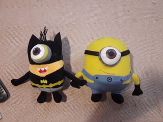 Lote Muñecos Peluches Minions
