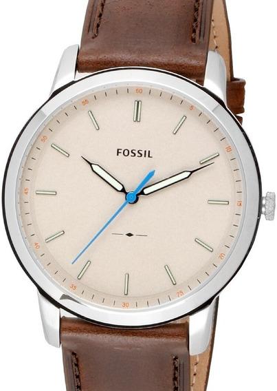 Relógio Fossil Masculino Minimalist - Fs5306