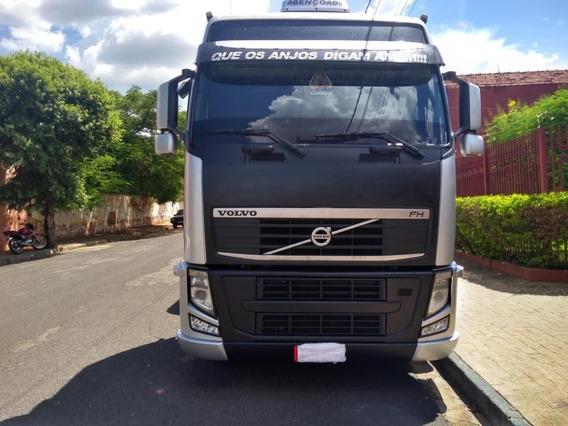 Volvo Fh 460 6x2 Lc Globetrotter I-shif Prata 2012