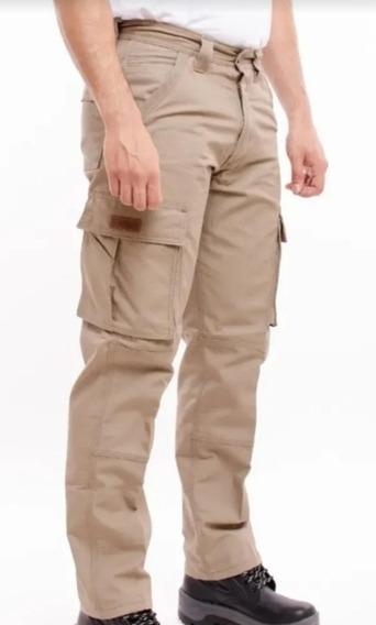 Pantalon Pampero Cargo Ripstop Hombre Trabajo Antidesgarro