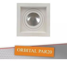 14 Spot Embutido Recuado Orbital Móvel Click C/led Par 20 8w