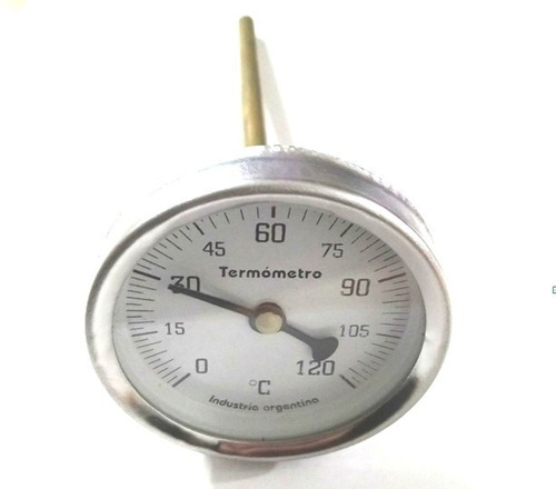 Pirómetro Termometro Freidora Bulbo / Olla Cervecera 120°
