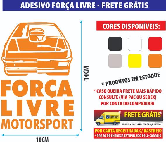 Força Livre Motorsport Adesivo Carro Personalizado