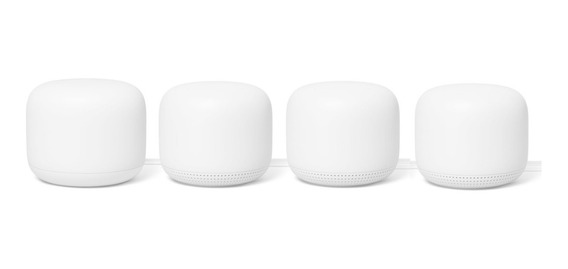 Google Nest Wifi Kit Router +3 Repetidores C/parlante 5ghz