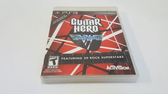 Jogo Guitar Hero Van Halen - Ps3 - Original