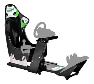 Estructura Simulador Manejo Collino Formula Sim Volante G29
