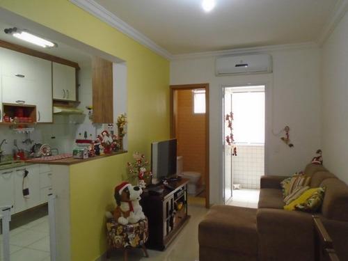 Apartamento À Venda, 56 M² Por R$ 370.000,00 - Pompéia - Santos/sp - Ap0560