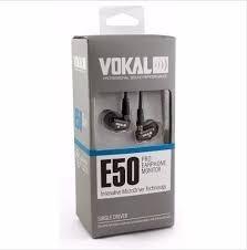 Fone De Ouvido Vokal Para Retorno - E50 Pro In Ear