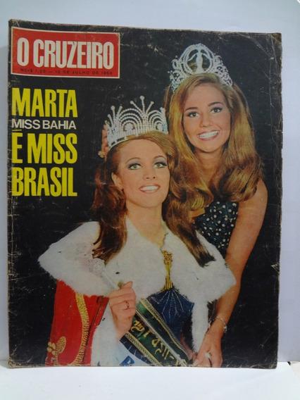 Revista O Cruzeiro Marta É Miss Brasil 1968