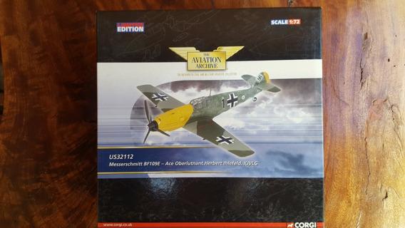 Avião Die Cast 1:72 Messerscmitt Bf-109e -corgi- Us32112
