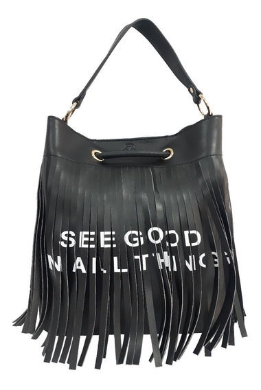 Bolsa Feminina Up4you Franja 2 Alças See Good All Things 78226