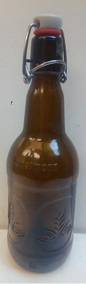 Botellas Vacias De Cervezas Kustron Chile - Hay Cinco