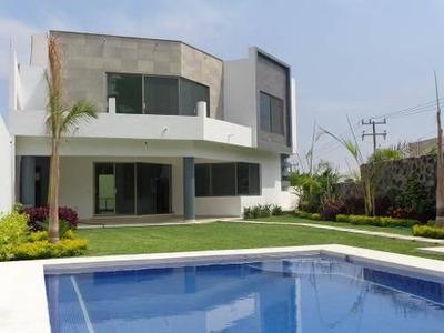 Casa Minimalista En Burgos Bugambilias, Temixco Morelos
