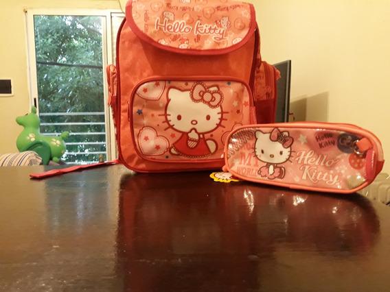 Mochila Chenson Hello Kitty Nueva