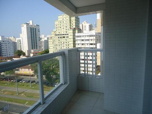 Apartamento Com 1 Dormitório Para Alugar, 48 M² Por R$ 2.000,00/mês - Vila Valença - São Vicente/sp - Ap5981