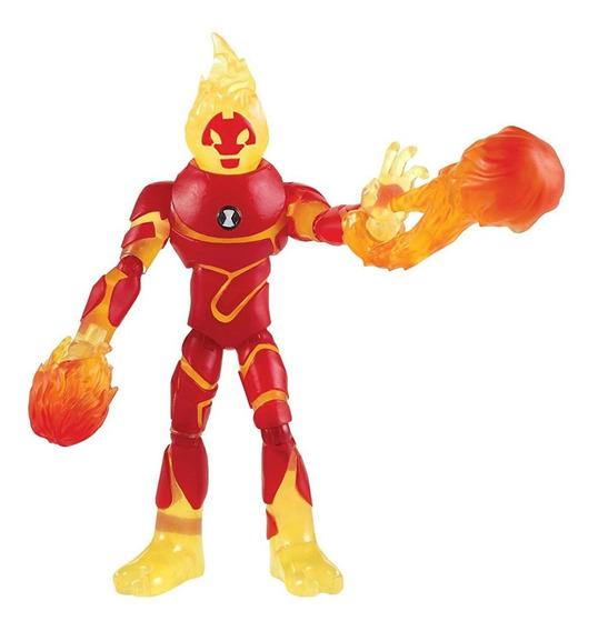 Figuras De Ação Ben 10 - Chama - Original Sunny