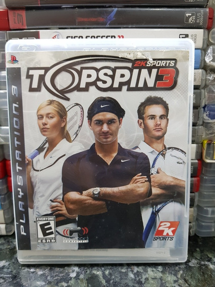 Top Spin 3 *ps3 Original*