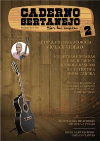 Caderno Sertanejo 2 Letras, Cifras Acordes P/viola E Violao