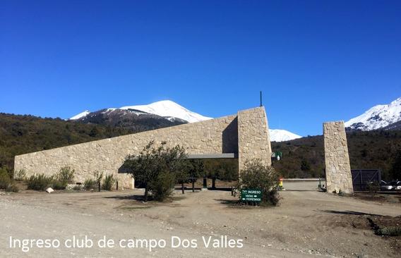 Lote En Venta En Club De Campo Dos Valles, Bariloche