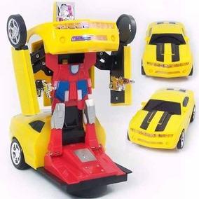 Brinquedos Menino Carrinho Robots Transformers Carro A Pilha
