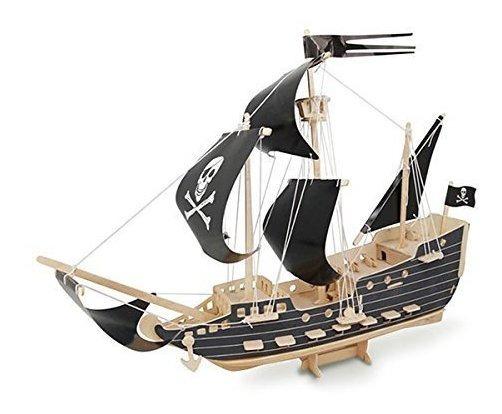 Ultunite Sealand 3d Puzzle Puzzle Barco Pirata